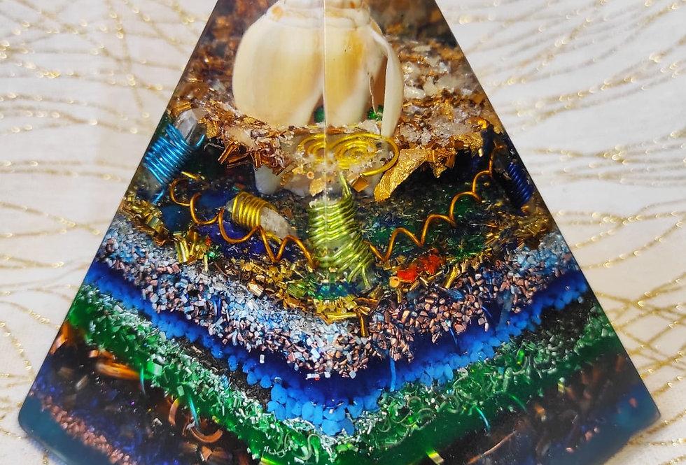 "Pyramide Pentagone XXL - ""Fond des Mers"""