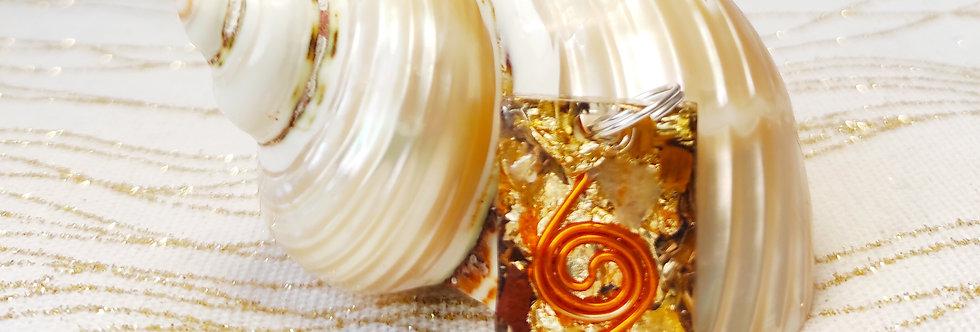 Bijou Orgonite Double spirale