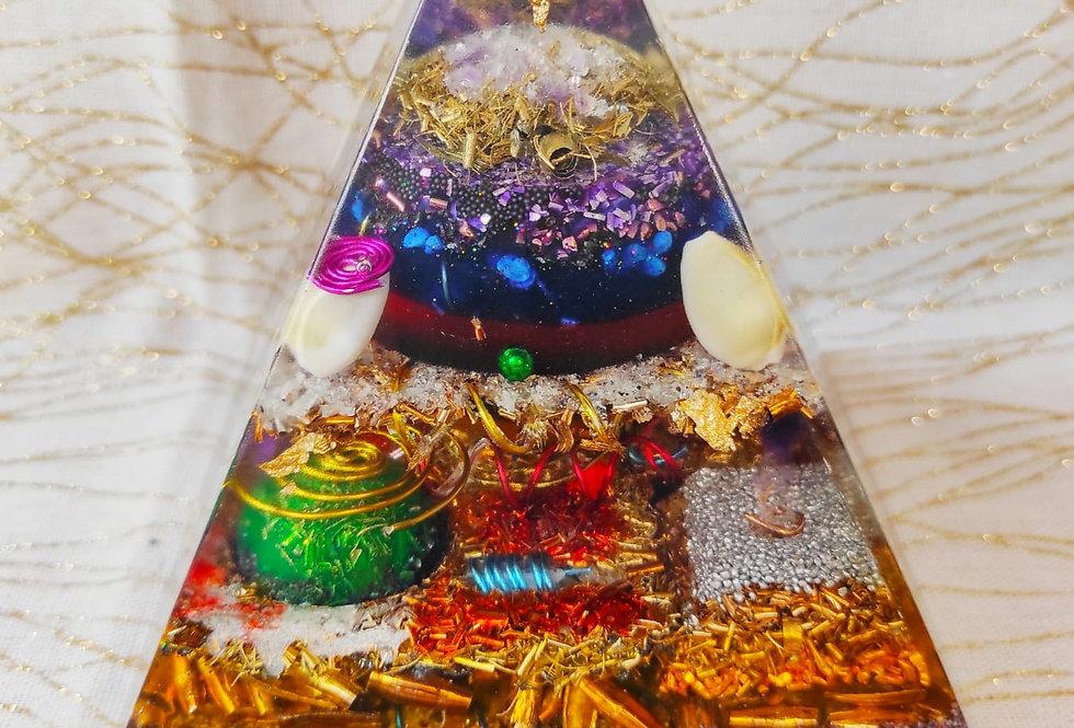 "Pyramide XXL: ""FlammeViolette"""