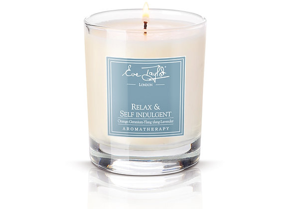Relax & Self Indulgent Aromawax Candle