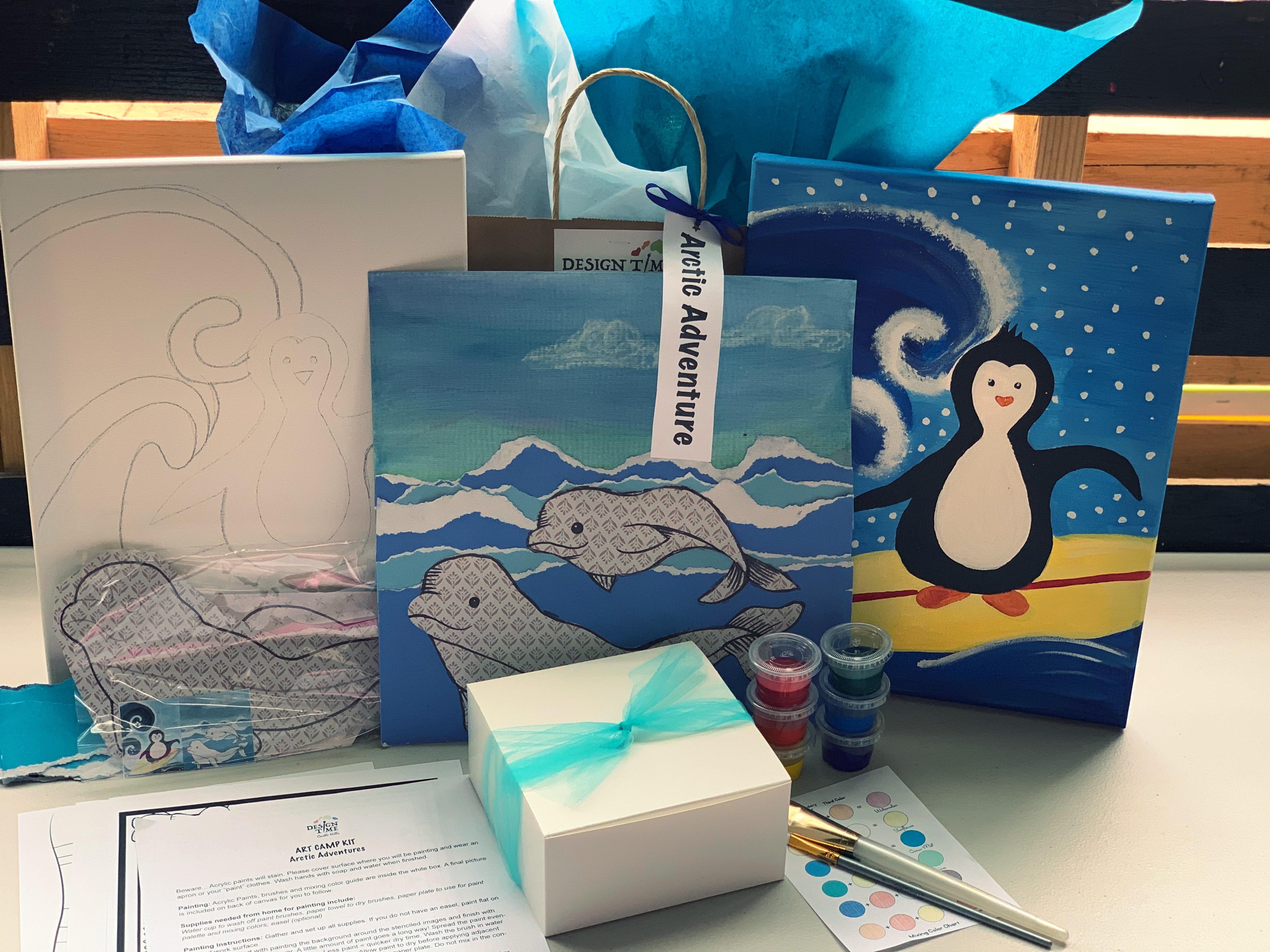 SALE ART Camp Kits To Go