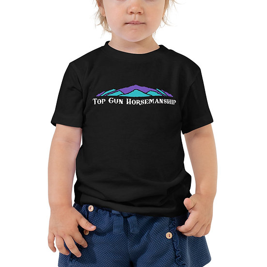 Top Gun Horsemanship Toddler Short Sleeve Tee