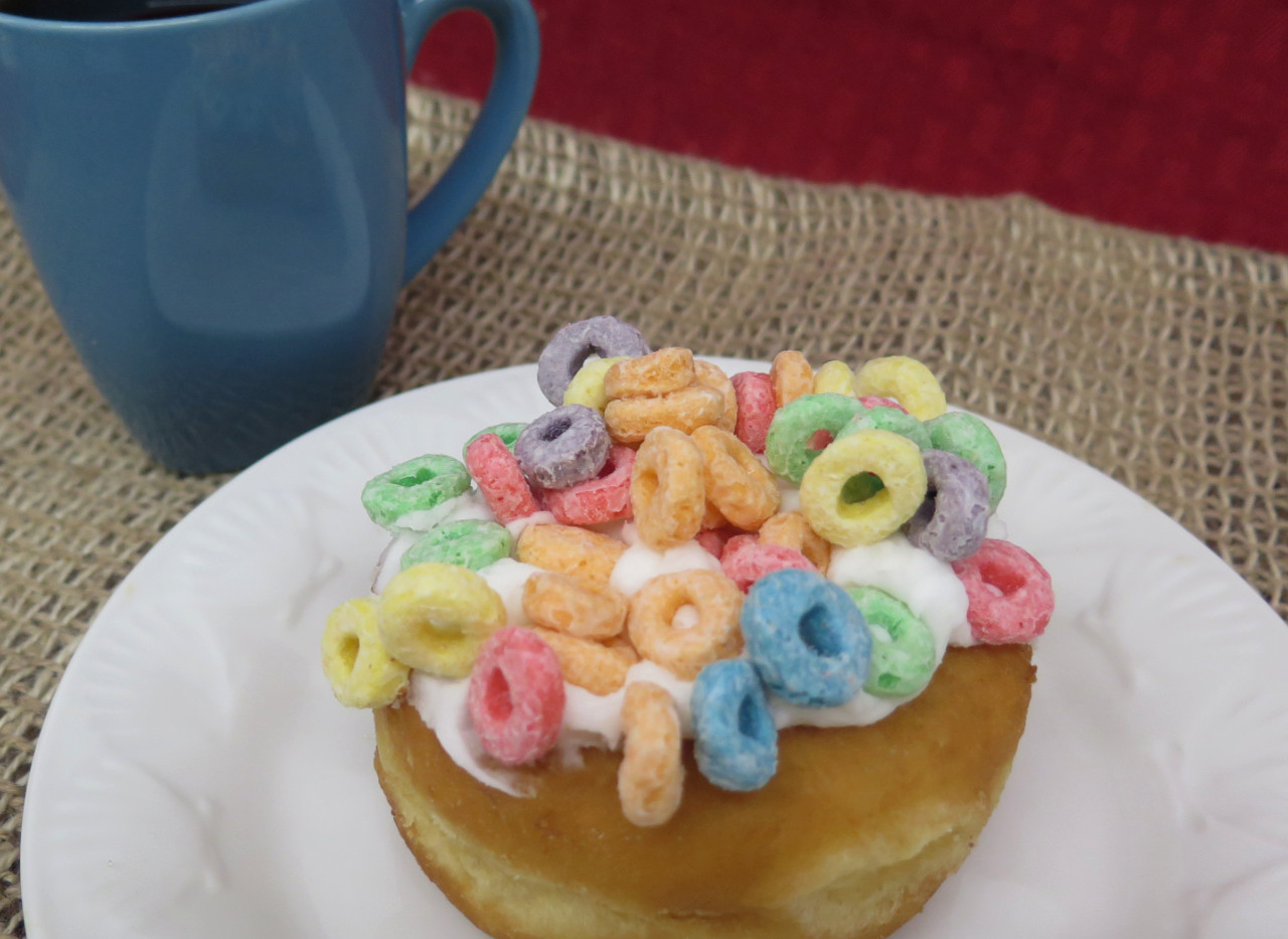 Fruit Loop Donut