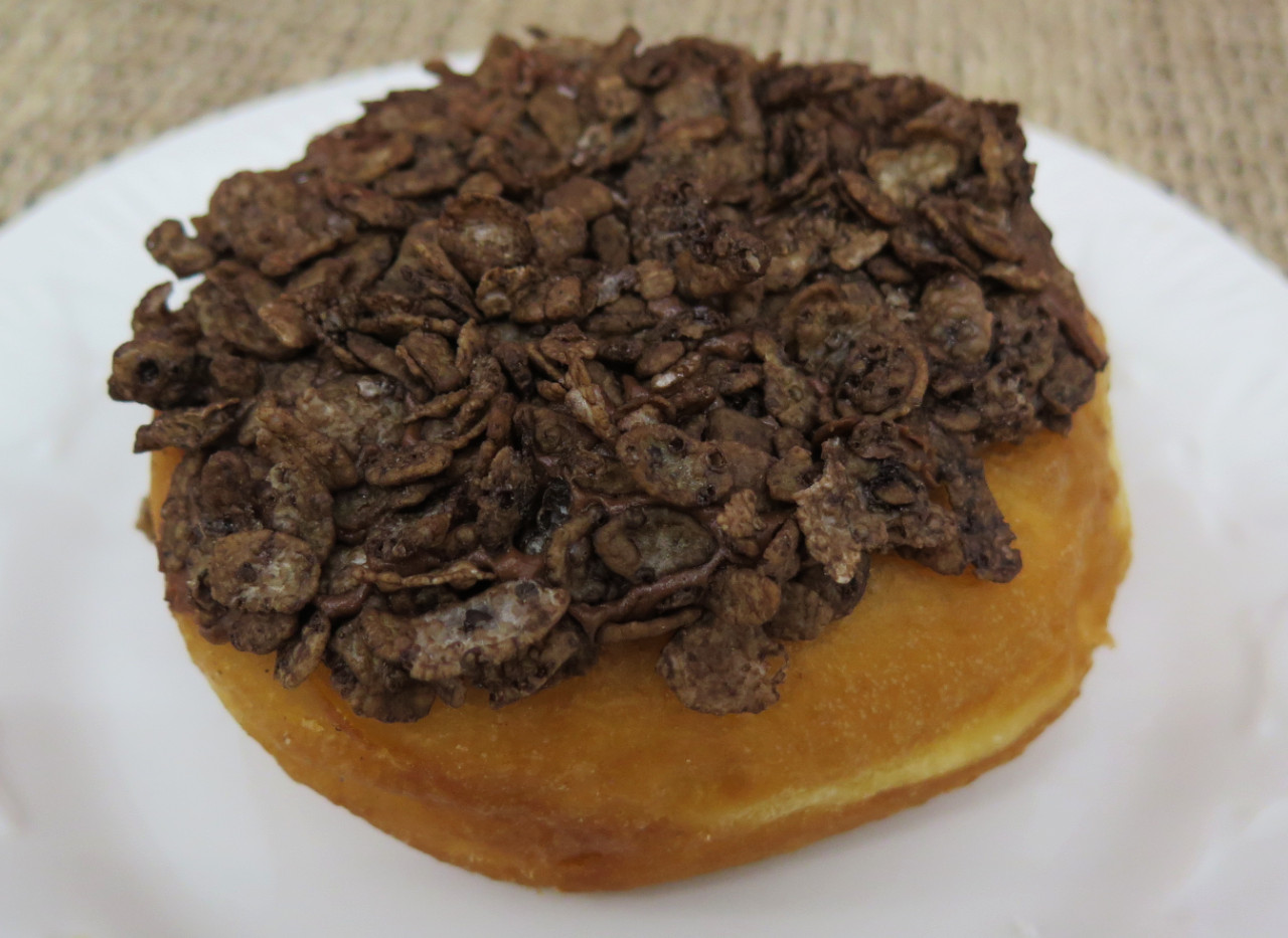 Choc. Rice Crispie Donut