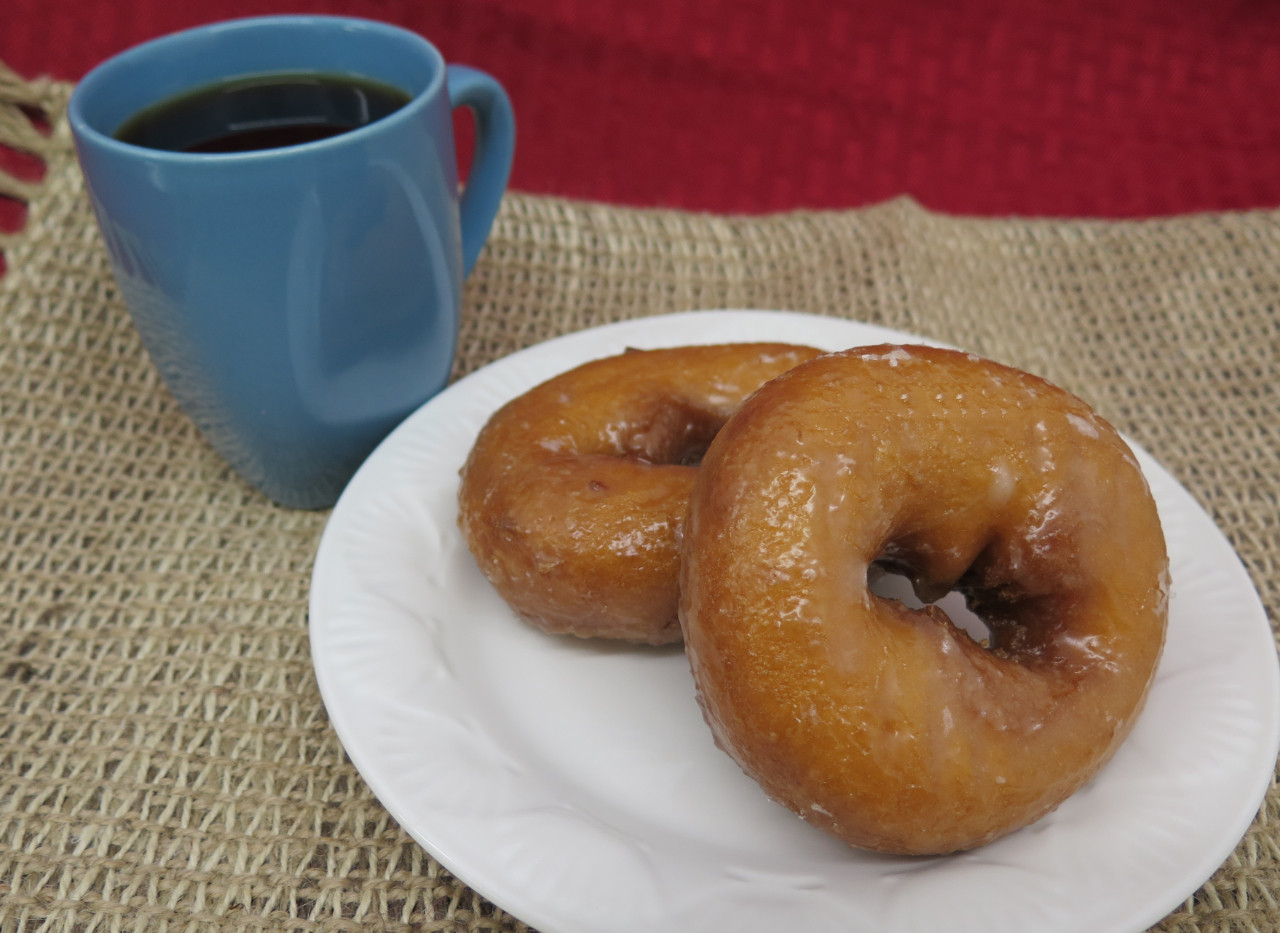 Vanilla Cake donut