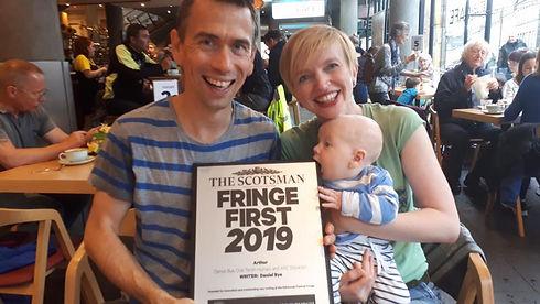 Dan Bye Sarah Punshon with Arthur .jpg