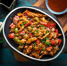 Chinese Chili Mock-Chicken