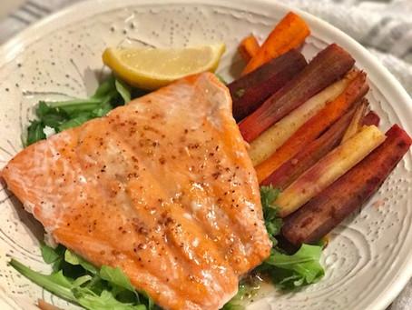 3 Recipe Baked Salmon