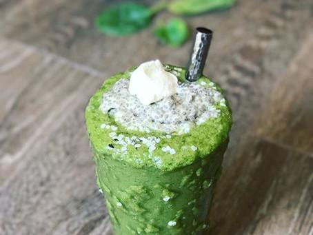 Spinach + Avocado Smoothie