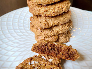 Paleo Salted Almond Butter Cookies