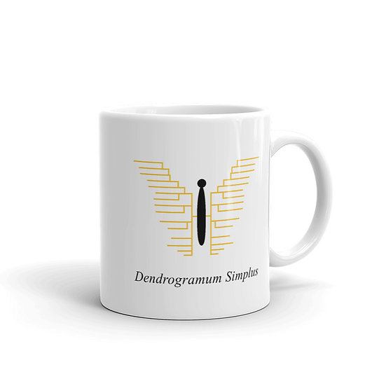 Datavizbutterfly - Dendrogramum Simplus - Mug