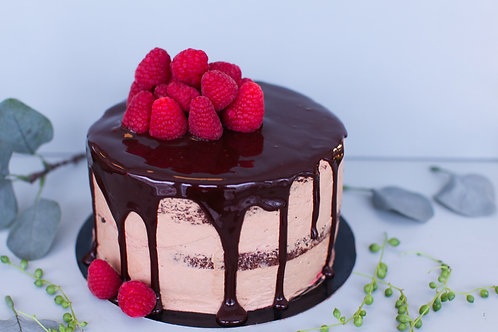 Sjokolade- og bringebærJUBEL