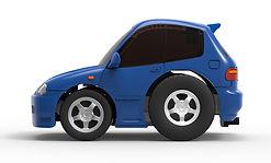 TinyQ-01b Honda Civic EG6 (Metallic Blue)