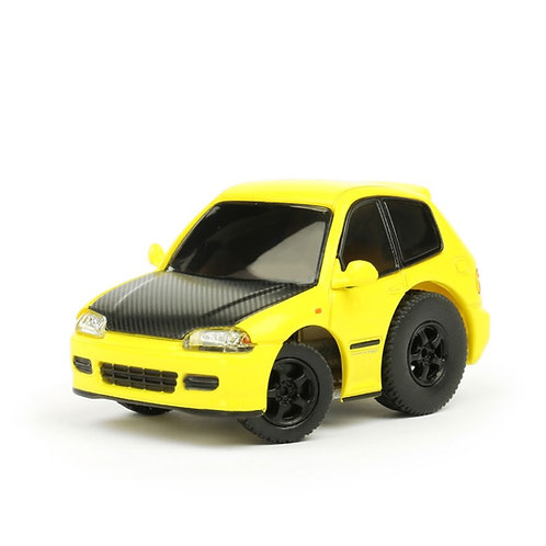 TINY Q Pro-Series S01 - Civic EG6 (Yellow/Carbon-Fiber)