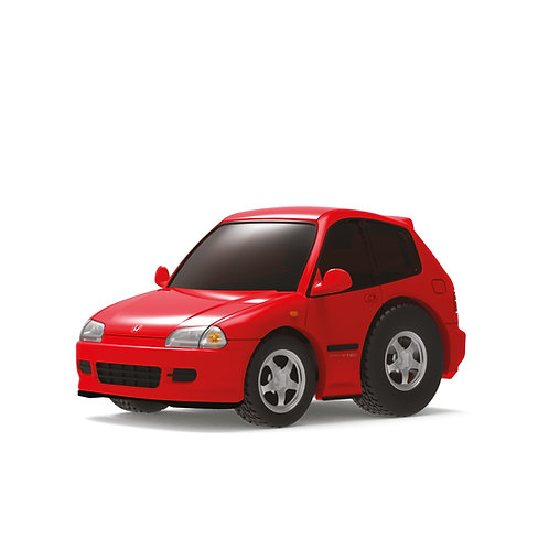 TINY Q Pro-Series 01 - Civic EG6 (Red)