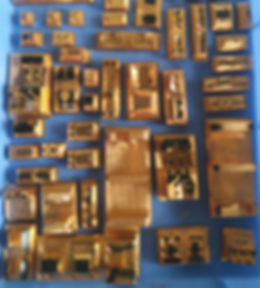 Tooling parts from 2 Q-Scale models