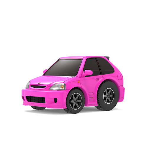 TINY Q Pro-Series 02 - Civic EK9 (Kandy Pink)