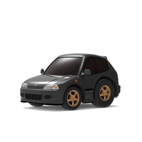 TINY Q Pro-Series 01 - Civic EG6 (Black)
