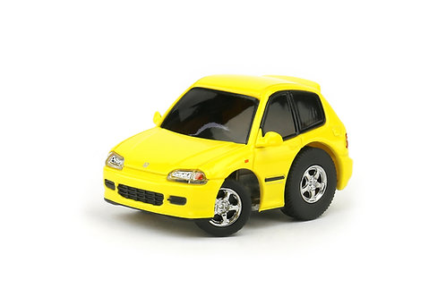 TINY Q Pro-Series 01 - Honda Civic EG6 (Yellow)