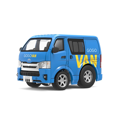 Tiny Q Pro-Series 03 - Toyota Hiace (GoGo Van)