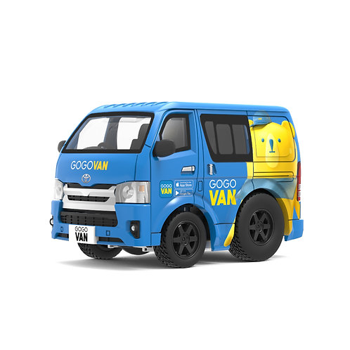 Tiny Q Pro-Series 03 - Toyota Hiace (GoGo Van - Bear)