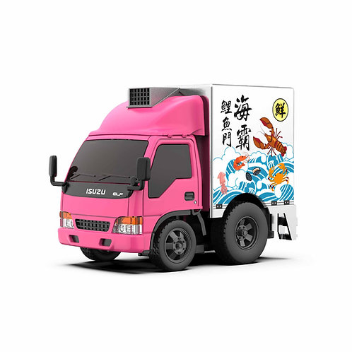 Tiny Q Uno-Series 08 - Isuzu N-Series 1993 Seafood Truck (Fish Boxes)