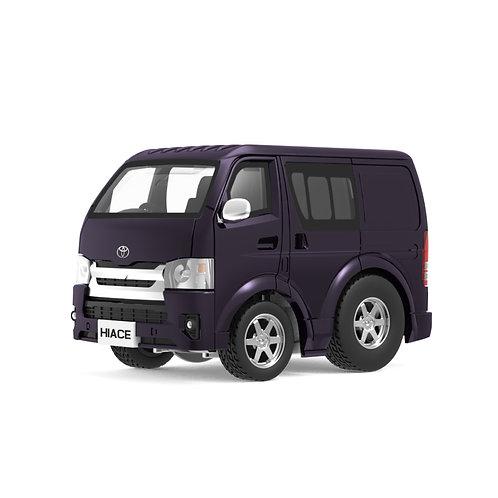 Tiny Q Pro-Series 03 - Toyota Hiace (Purple)