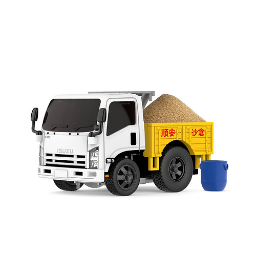 Tiny Q Pro-Series 11 - ISUZU N-Series 2006 Sand Truck with Magic Sand
