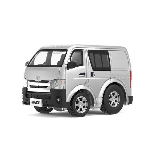 Tiny Q Pro-Series 03 - Toyota Hiace (Silver)
