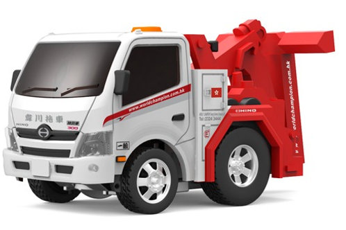 Tiny Q Pro-Series 09 - HINO 300 Tow Truck (World Champion)