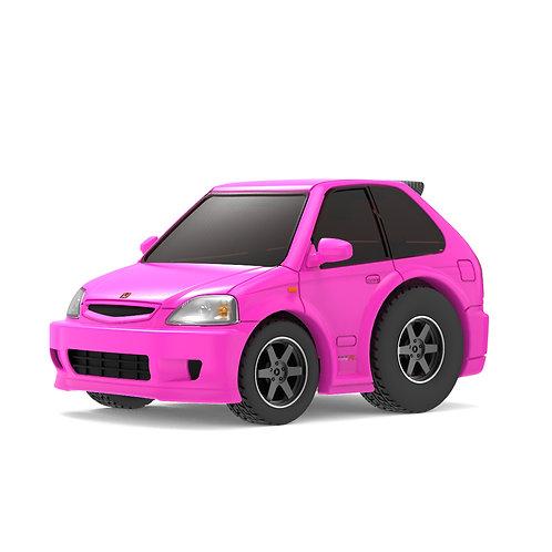 TINY Q Pro-Series 02 - Civic EK9 (Kandy Pink)