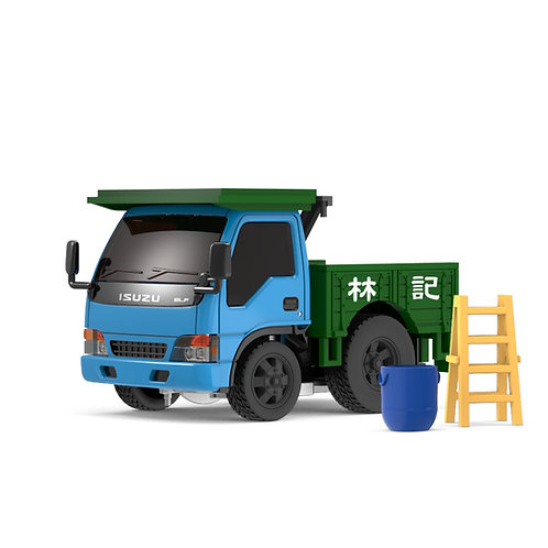 Tiny Q Pro-Series 11 - ISUZU N-Series 1993 Dump Truck