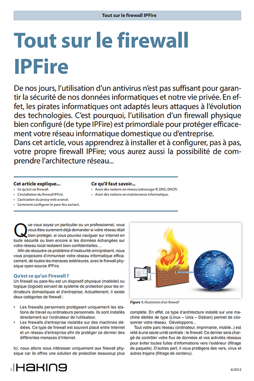 FIREWALL IPFIRE