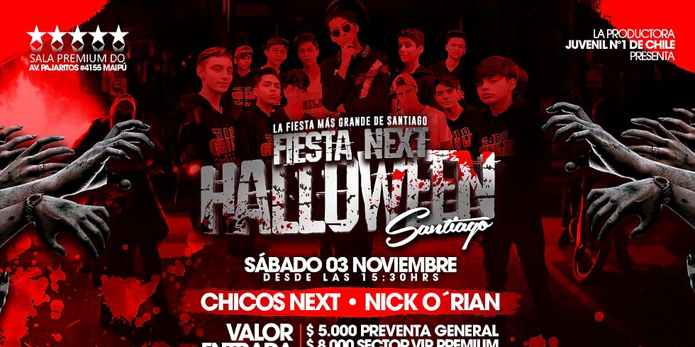FIesta Next Halloween SANTIAGO