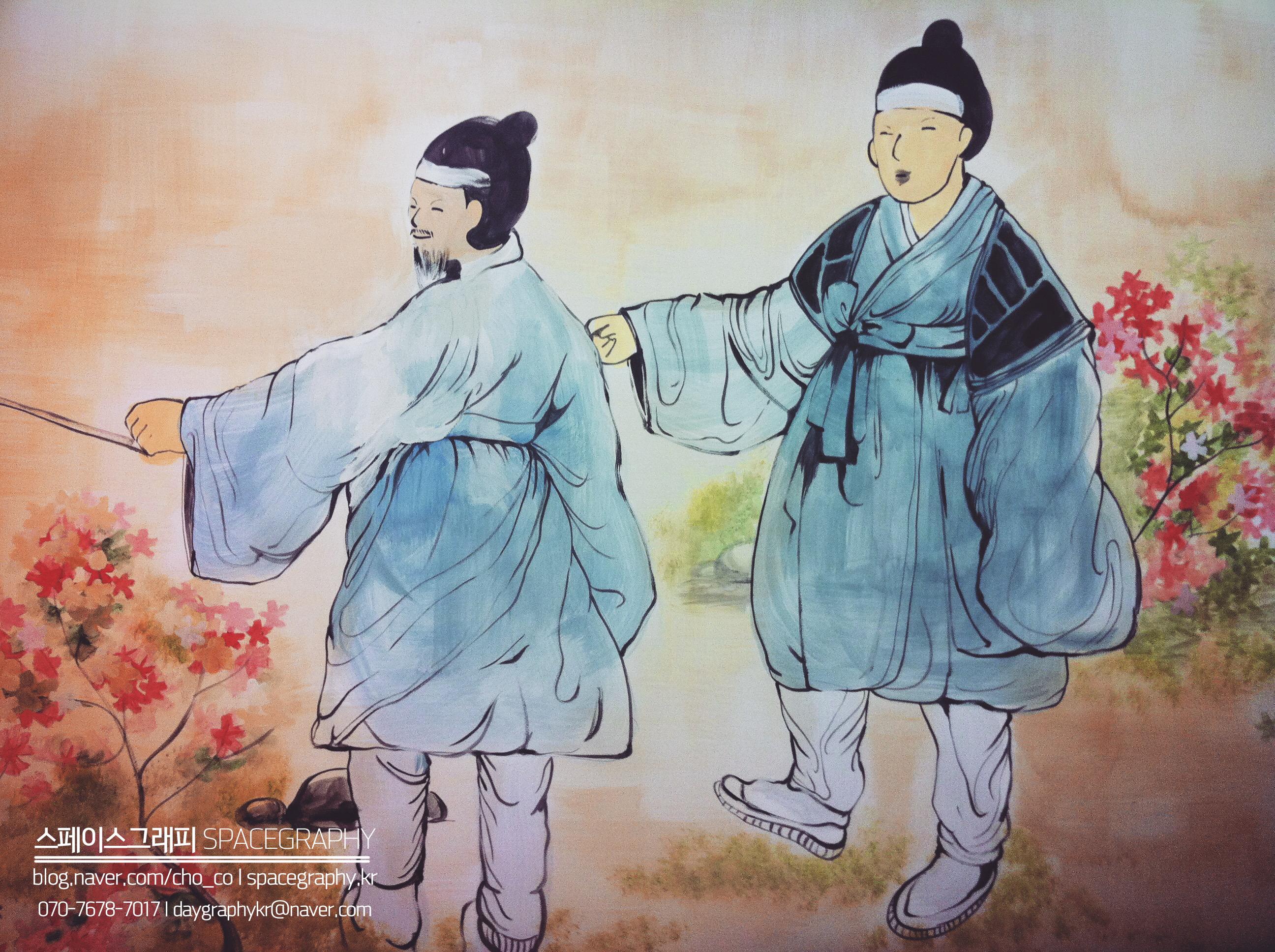 중국집벽화_중국집인테리어_7