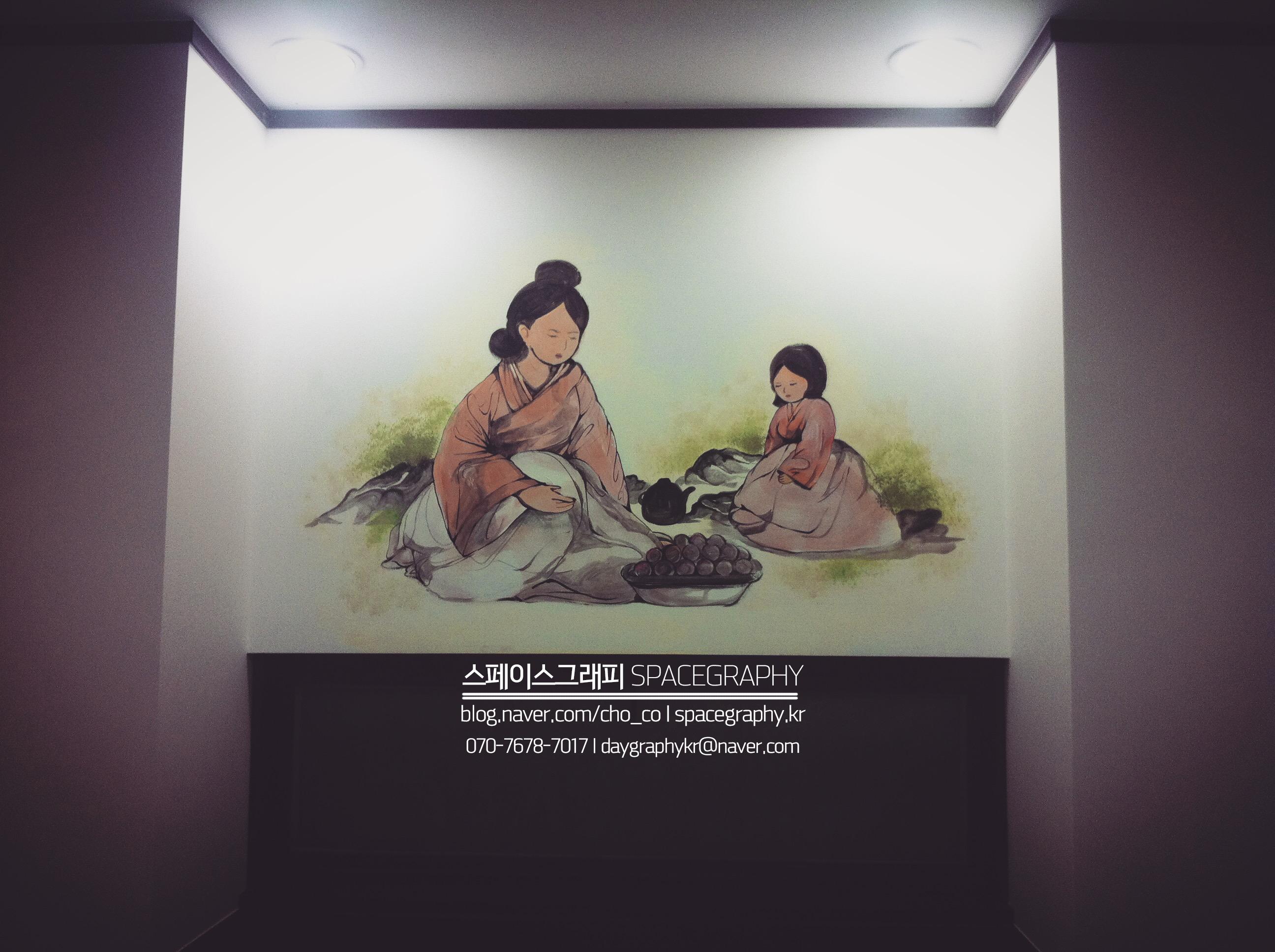 중국집벽화_중국집인테리어_6