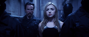 "Peyton List & Michael Traynor in ""The Thinning"""
