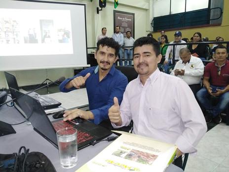 Presentación en la Asamblea Departamental - Proyecto Granjas Productivas para 400 familias victimas