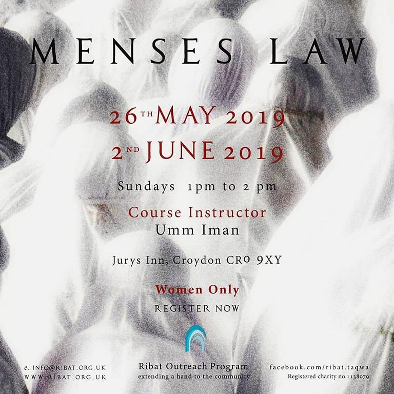 Menses Law