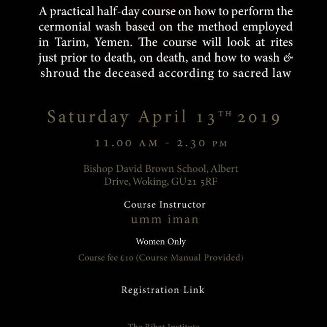 Death & The Deceased Course