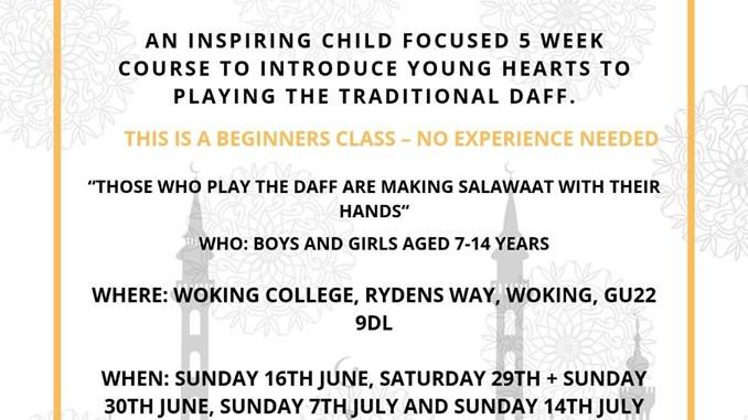 Childrens Daff Workshop