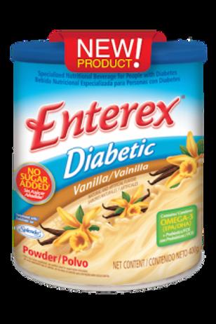 Enterex Diabetic Vanilla Powder - 6 cans