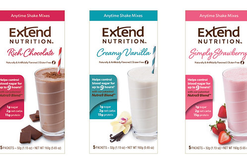 Extend Nutritional Shake Mix - 12 boxes
