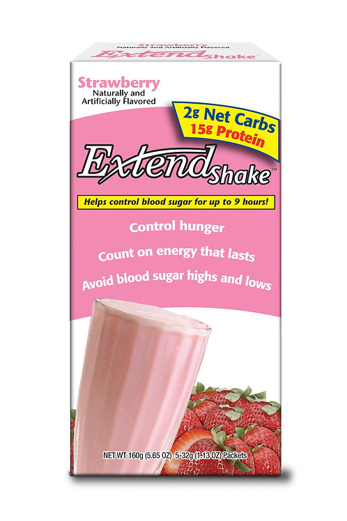 Extend Nutritional Shake Mix STRAWBERRY - 12