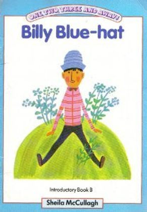 Billy Blue-hat from The Village With Three Corners. One, Two, Three and Away!