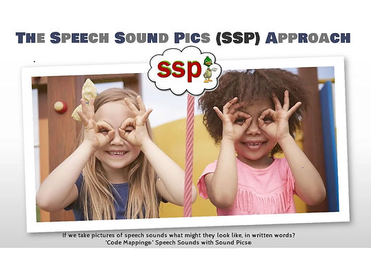 Speech Sound Pics (SSP) Approach
