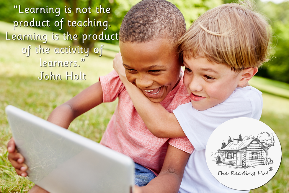Learning is the product of the activity of learners