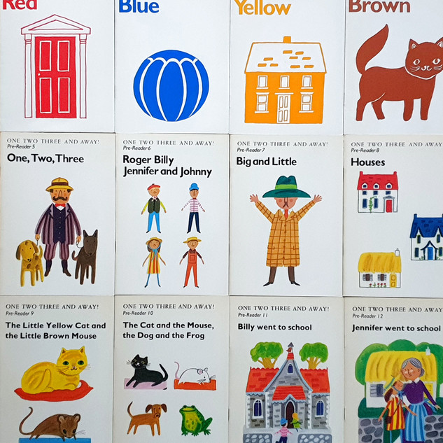1,2,3 and Away Pre-Readers - Set of 12 Books
