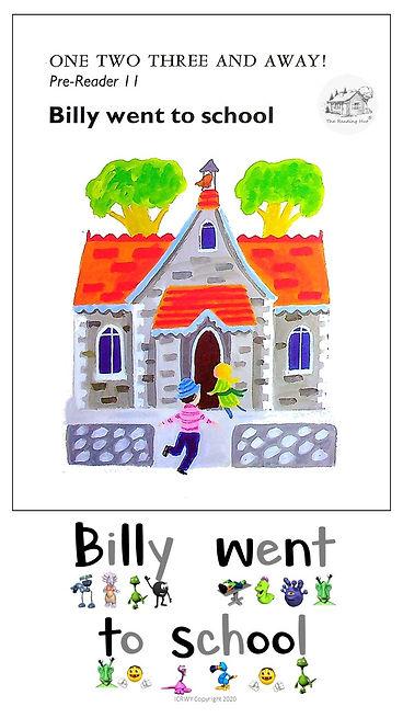 Pre-Reader 11 - Billy went to school