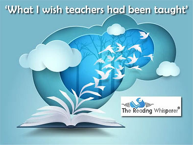 What I wish teachers had been taught at University